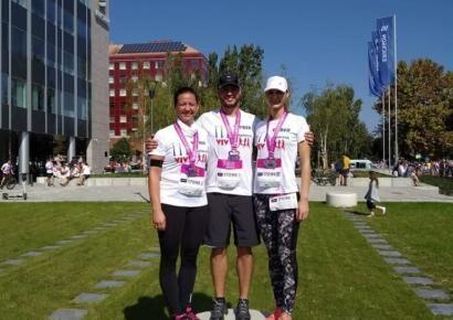 A Wizzair Félmaratonon a VIVBER Kft. színeiben 3 futócsapat indult a 21,1 kilométeres távon.
