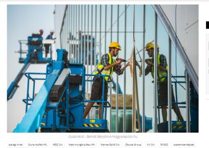 Ma már megéri hazajönni a magyar építőiparba