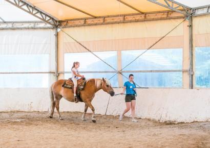 Aki a lovaglást ki akarta próbálni, az meg is tehette a VIVBER Családi napján.
